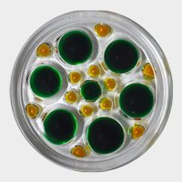 Mid-Century Modern Walther Glass Beverage Coasters, Set of 6