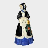 Vienna Secessionist Figurine of WINTER by J. Meier-Michel, WKKW Pottery