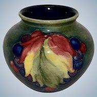 Moorcroft Pottery Small Vase