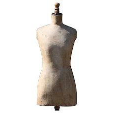 1920s French Mannequin, Vintage Dress Form