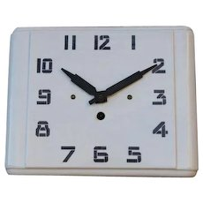French Kitchen Wall Clock, Farmhouse Style Ceramic Wall Clock.