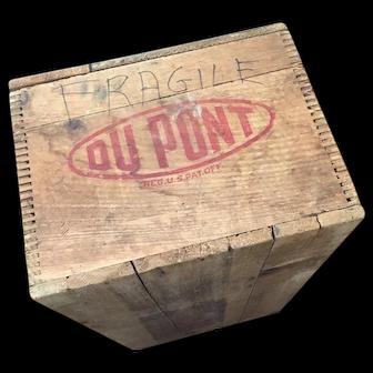 Vintage DuPont Ammunition Box