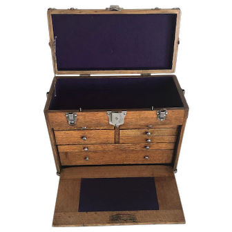 Vintage Machinist Tool Chest - Restored