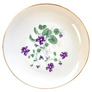 "H & Co SELB Bavaria Heinrich ""Violet"" Luncheon (8"") plate"