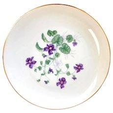 "H & Co SELB Bavaria Heinrich ""Violet"" Luncheon (8"") plate"