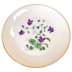 """H & Co SELB Bavaria Heinrich """"Violet""""Bread & Butter Plate"""