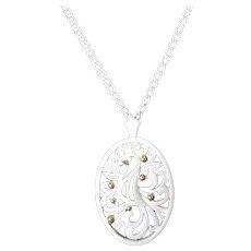 Vintage Monet White Enamel Bird Necklace