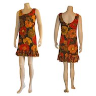 1960's Mini Dress by Gilmore
