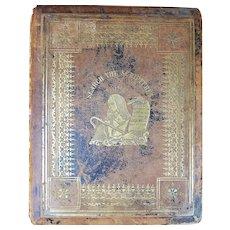 1867 Family Bible - Van Brocklin of Amsterdam/Northville - William Harding