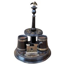 Antique Pipe and Cigar Tobacco Smoking Stand