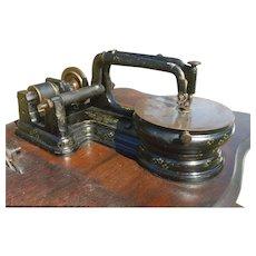 FREE SHIPPING! Antique 1863 Florence Sewing Machine - Civil War era