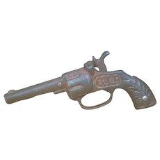Stevens Cast Iron Cap Gun GIP & PAT Miniature Toy Gun Late 1800'S