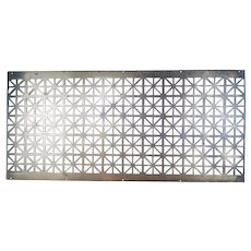 Large Solid Brass Register Vent Cover Grate, 4 foot long and 39 pounds!