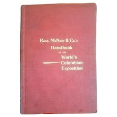 1893 Rand, McNally & Co.'s Handbook of the World's Columbian Exposition 1