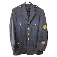 Vintage 1959 Hartford Police Uniform Jacket - Identified - John Whalen, Connecticut Mounted/Horse Free Shipping!