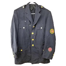 Vintage 1959 Hartford Police Uniform Jacket - Identified - John Whalen, Connecticut Mounted/Horse Free Shipping!