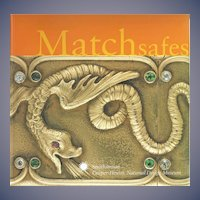 Matchsafes book by Deborah Shinn, Cooper-Hewitt Museum; match safes