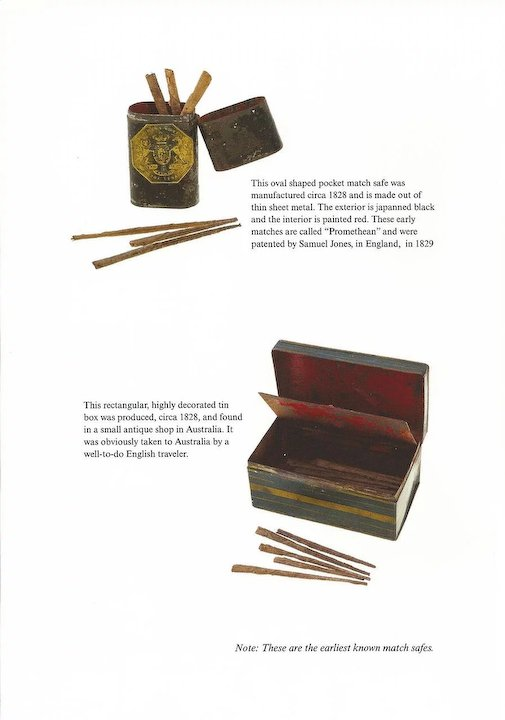 Portable Fire, A History of Match Safes museum catalog