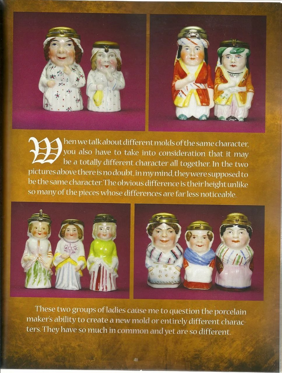 The Mystery of Little People - Porcelain Match Holders, book by Stephen  J Horvat