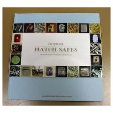 Exceptional Match Safes book, an IMSA publication,  Shapiro & Koenig