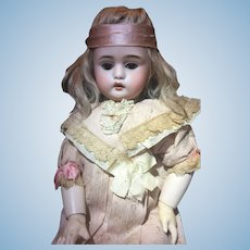 All Original French Edouard Etienne Leconte and Company Doll, 14 inches, 1880 on.