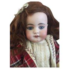 """18"""" Early Simon & Halbig Character Doll Rare Mold 739."""