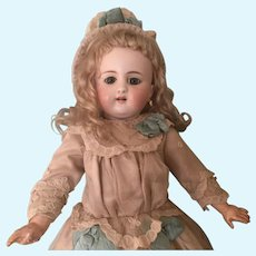 Stunning and Rare German Bisque Child Doll, Model 908 By Simon And Halbig