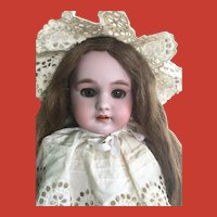"Beautiful Doe-Eyed 21"" French DEP 8 Bebe ~ Body and Head Stamped, circa 1910"