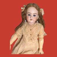 Vintage Faux Moonstone & Rose Quartz Doll Earrings for large doll