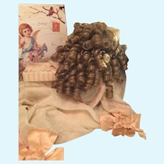 Large Honey Blonde Doll Wig with lots of Curls
