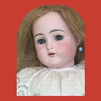 "Rare Antique 24"" K *R 192 Beautiful Pale Bisque Socket Head Doll on Original Body and Finish"