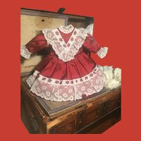 Dressy Antique Style Doll Dress for Small Doll~ Very Pretty