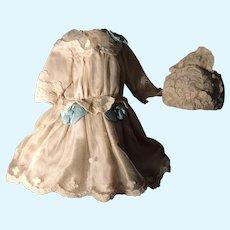 Fabulous Dress for Antique Doll