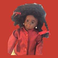 """12"""" Antique Black Bahr Proschild 277 Child Doll, circa 1888~on"""