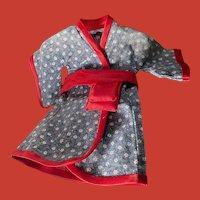 Vintage Kimono for Small Doll~Pristine