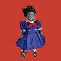 "15"" Rare Simon and Halbig 1368 Ebony Black Doll~ w/ Darling Wardrobe"