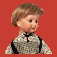 Antique Wig for Small Boy Doll
