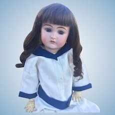 "24"" Antique Kammer & Reinhardt K*R 192 Bisque Head Doll"