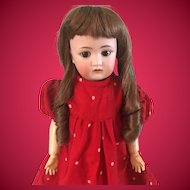 Darling J.D. Kestner 214 Child Doll -18 inches