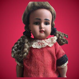 "14"" Rare Kammer & Reinhardt K * R Child Doll w/ Gorgeous Cafe' Au Lait Complexion!"