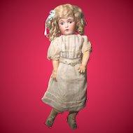 """18"""" All ORIGINAL Kestner 171 """"Daisy"""" Wearing RARE Factory Shift Dress!"""