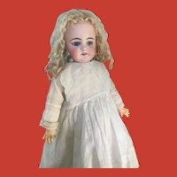 "HTF 18"" Antique German Simon & Halbig 739 Doll w/ Gorgeous Pale Bisque, 1889-on"