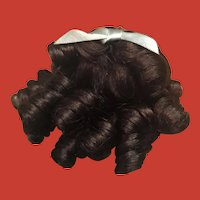 Darling Southern Belle Chocolate Brown Small Doll Wig