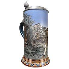 Mettlach Beer Stein # 2082 - William Tell Stein