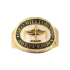 Georgian Gem--Splendid Memorial Ring