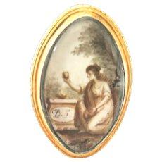 A Heart In My Hand--Georgian Memorial Ring