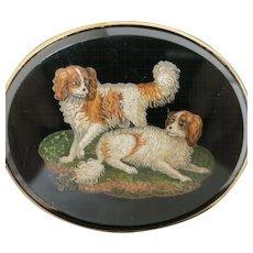Finest Micro-Mosaic Dog Portrait