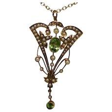 Feminist Finery--The Art Nouveau Lavalier