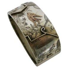 Victorian Sterling Aesthetic Movement Bracelet