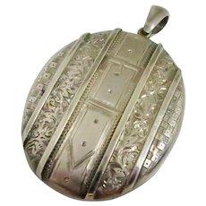 Victorian Locket --A Favorite Buckle Design